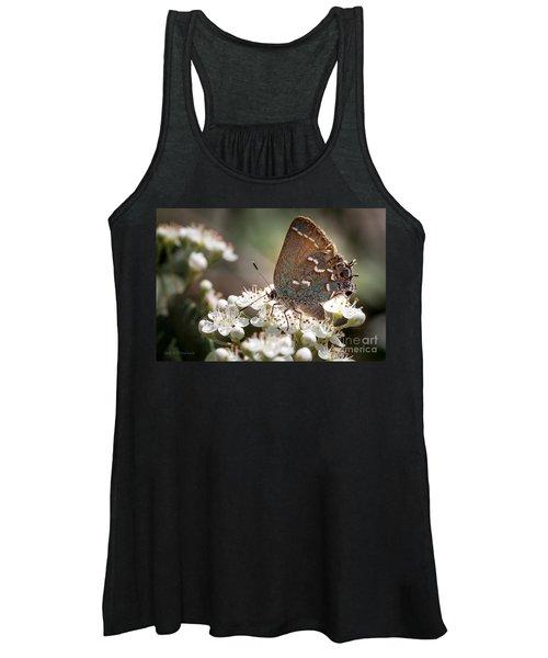 Butterfly In The Garden Women's Tank Top