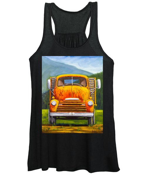 Cabover Truck Women's Tank Top