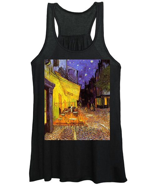 Cafe Terrace At Night Women's Tank Top