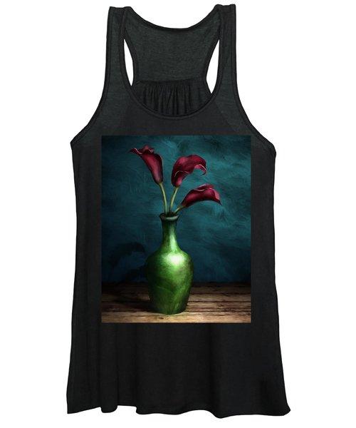 Calla Lilies I Women's Tank Top