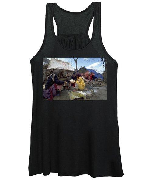 Camping In Iraq Women's Tank Top