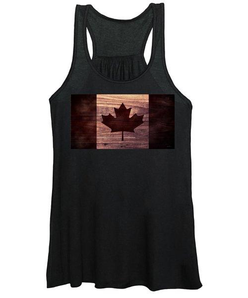 Canadian Flag I Women's Tank Top