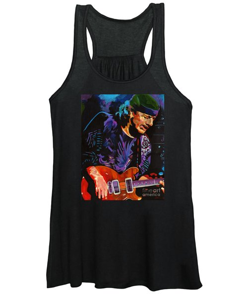 Supernatural.carlos Santana Women's Tank Top