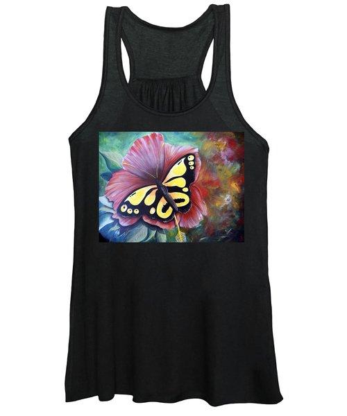 Carnival Butterfly Women's Tank Top