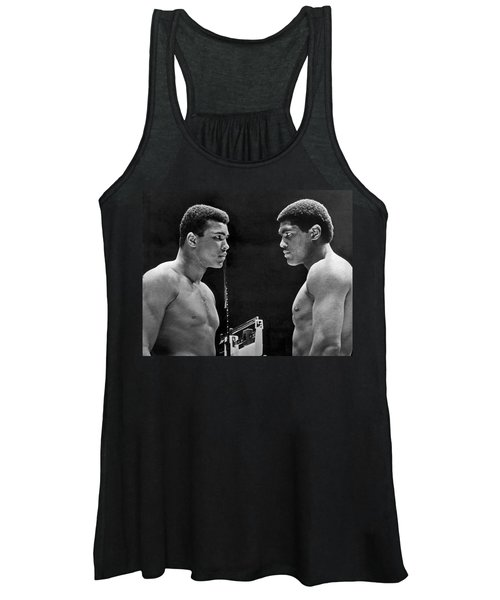 Cassius Clay Gives Whammy Eye Women's Tank Top