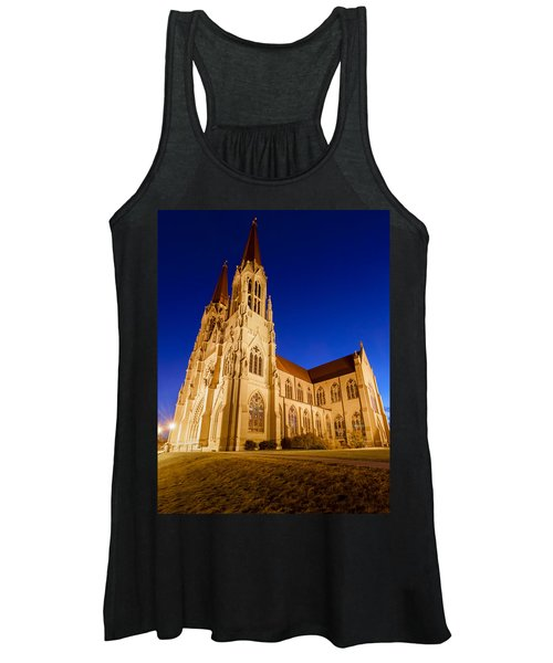 Morning At The Cathedral Of St Helena Women's Tank Top