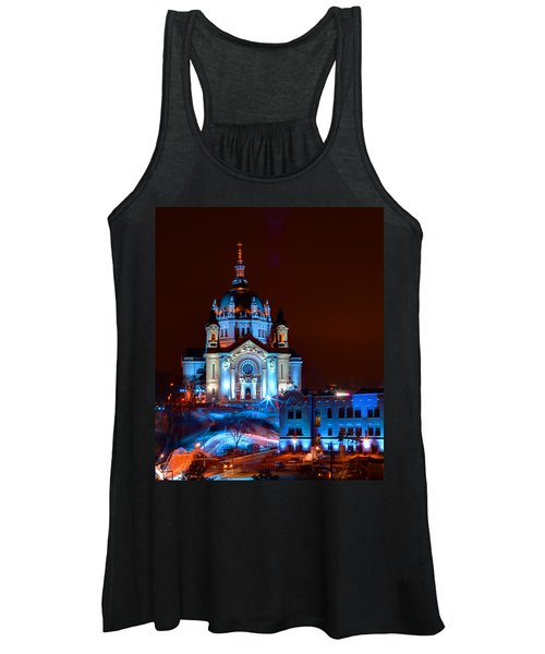 Cathedral Of St Paul All Dressed Up For Red Bull Crashed Ice Women's Tank Top