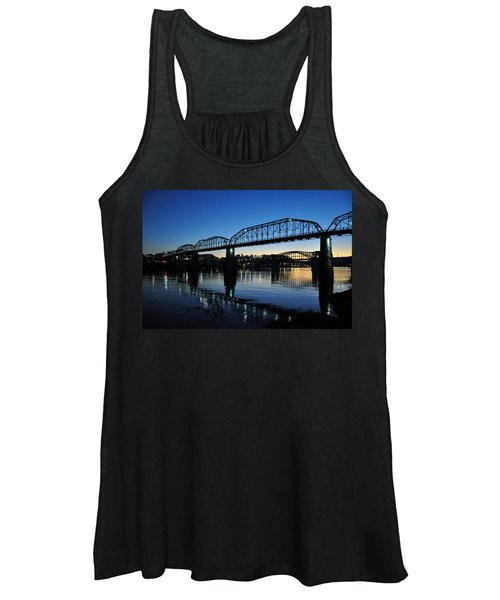 Tennessee River Bridges Chattanooga Women's Tank Top