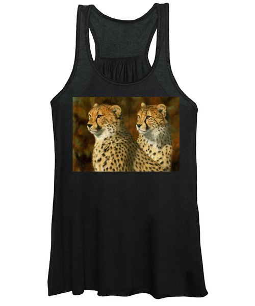 Cheetah Brothers Women's Tank Top