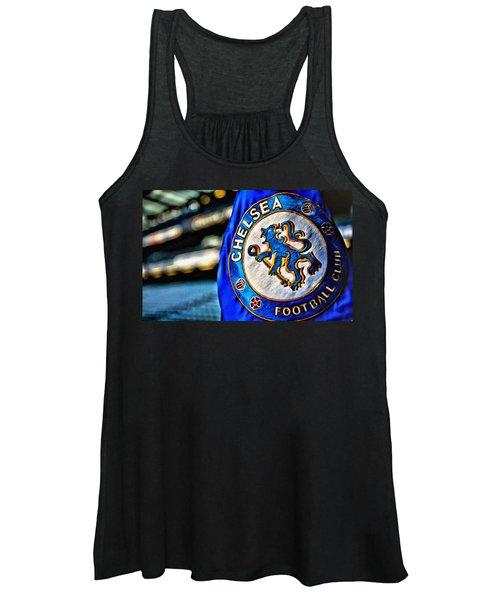 Chelsea Football Club Poster Women's Tank Top