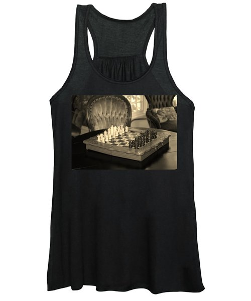 Chess Game Women's Tank Top