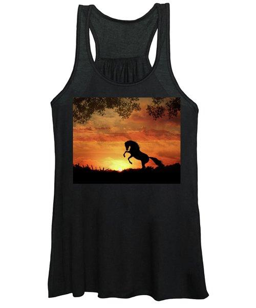 Chestnut Sunset Women's Tank Top