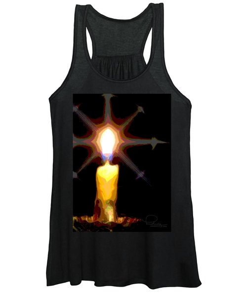 Christmas Candle Women's Tank Top