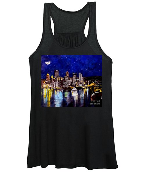 City Of Pittsburgh At The Point Women's Tank Top