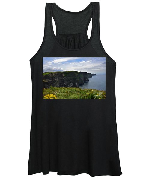 Cliffs Of Moher Looking South Women's Tank Top