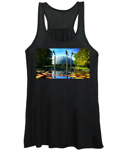 Climatron Geodesic Dome Landscape Women's Tank Top