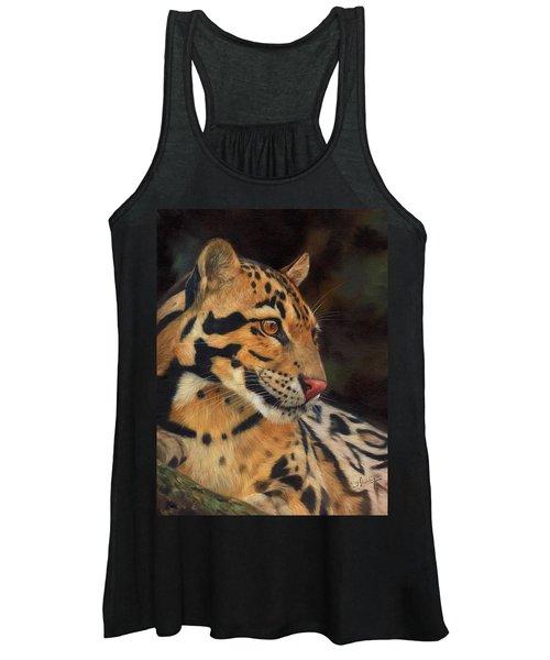 Clouded Leopard Women's Tank Top