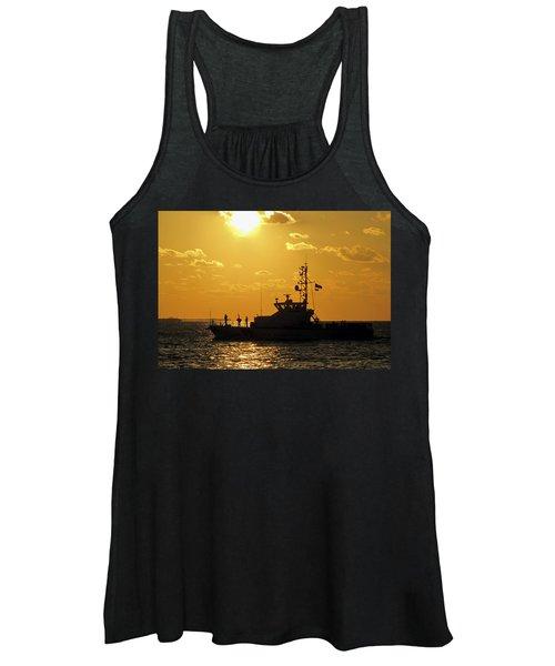 Coast Guard In Paradise - Key West Women's Tank Top