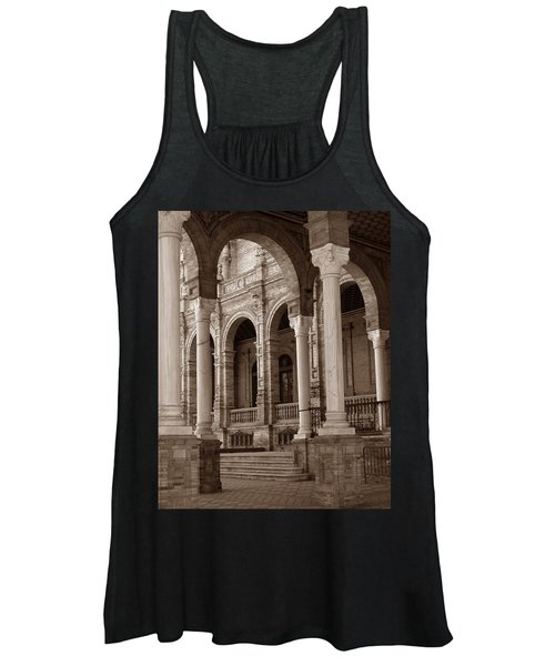 Columns And Arches Women's Tank Top