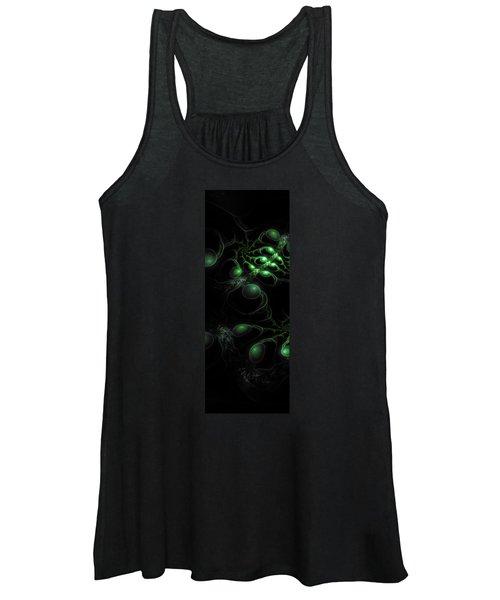 Cosmic Alien Eyes Original Women's Tank Top