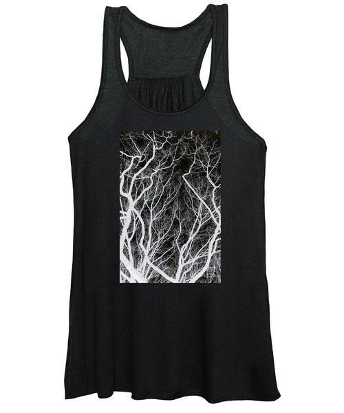 Creepy Branches Women's Tank Top