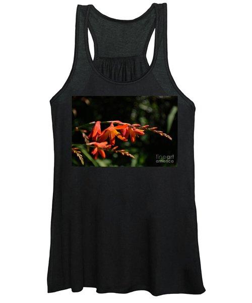 Crocosmia 'dusky Maiden' Flowers Women's Tank Top