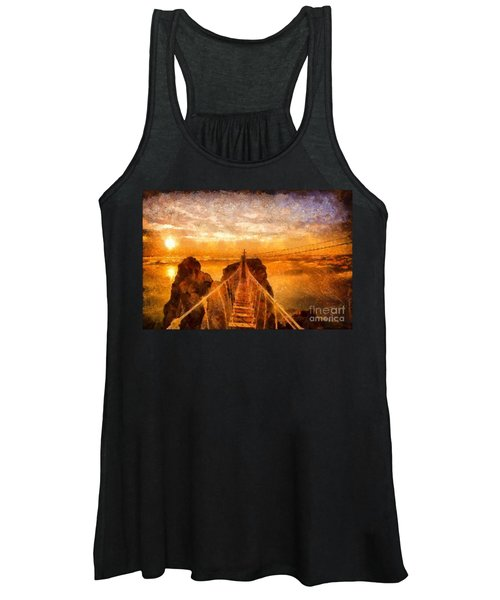 Cross That Bridge Women's Tank Top