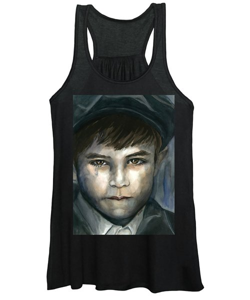 Crying In The Shadows Women's Tank Top
