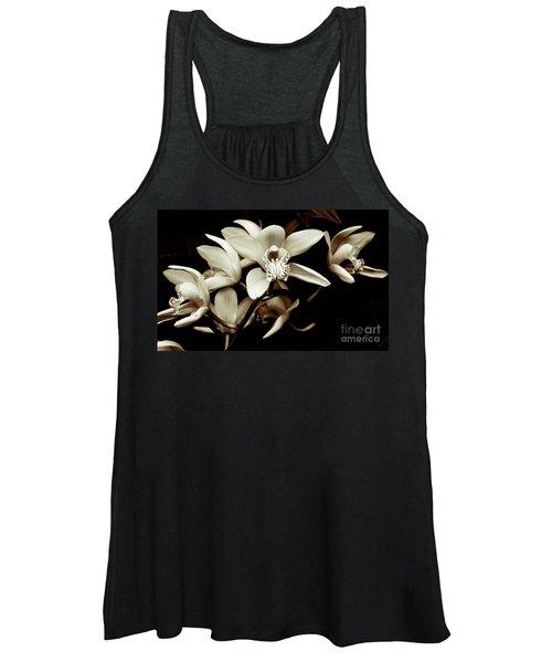 Cymbidium Orchids Women's Tank Top