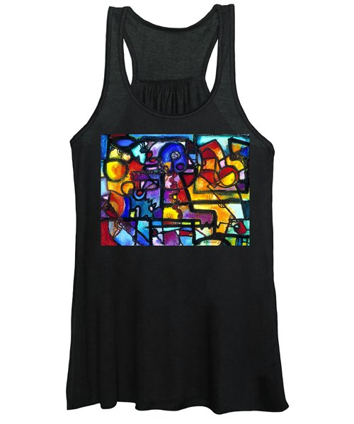 Dance Of The Gauge Bosons In Vacuum Women's Tank Top