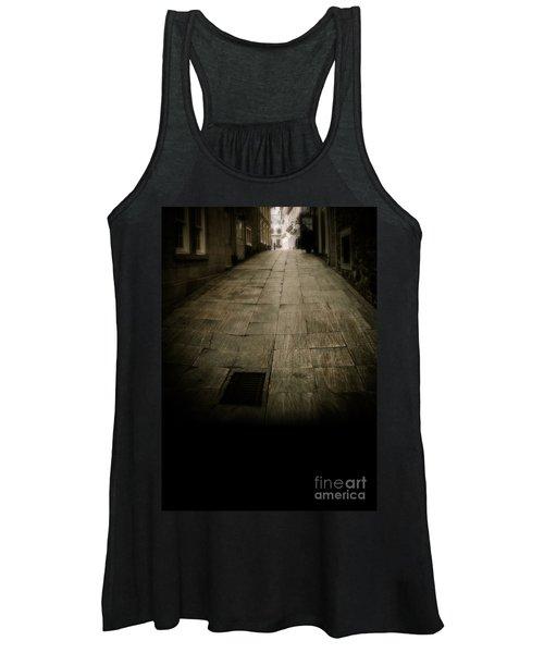 Dark Alley In Old Historic City Women's Tank Top