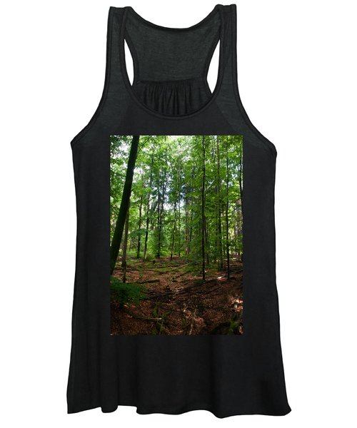 Deep Forest Trails Women's Tank Top