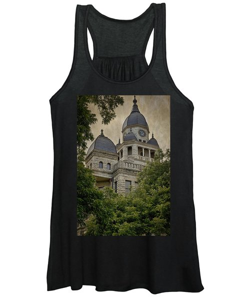 Denton County Courthouse Women's Tank Top