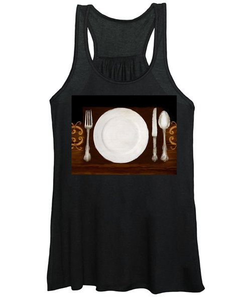 Dining Etiquette Women's Tank Top
