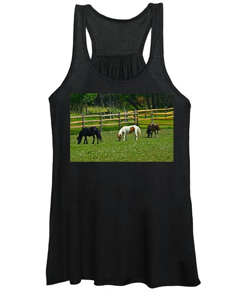 Down On The Ranch Women's Tank Top