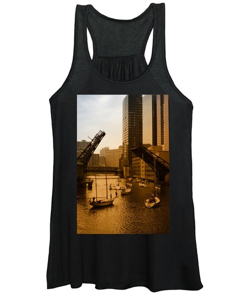 Downtown Chicago Women's Tank Top