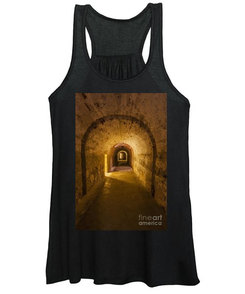 Dungeon At Castillo San Cristobal In Old San Juan Puerto Rico Women's Tank Top