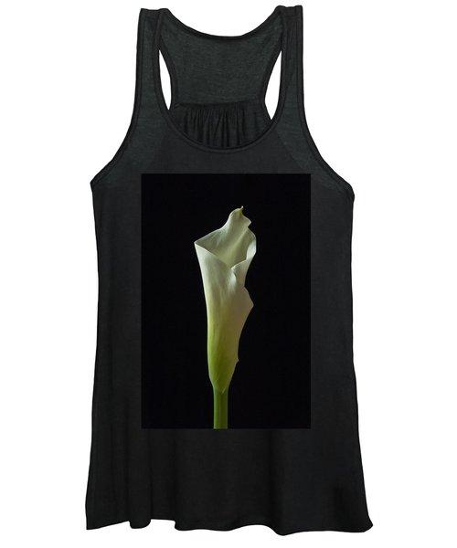 Elegance Calla Lily Women's Tank Top