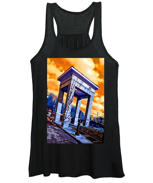 Ellicott City Courthouse Path Women's Tank Top
