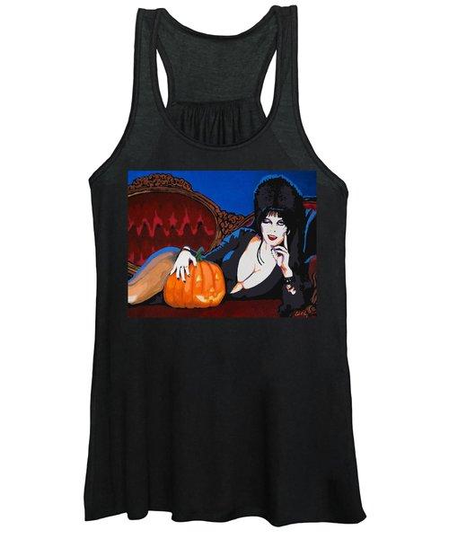 Elvira Dark Mistress Women's Tank Top