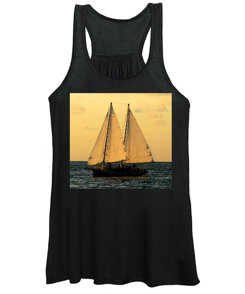 More Sails In Key West Women's Tank Top