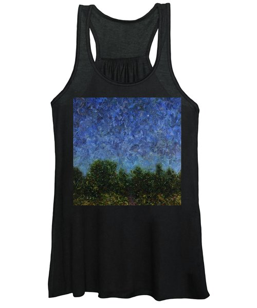 Evening Star - Square Women's Tank Top
