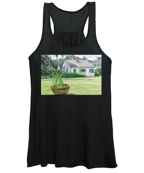 Evergreen Plantation Back Women's Tank Top