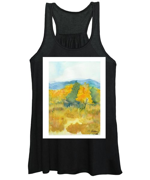 Fall Trees Women's Tank Top