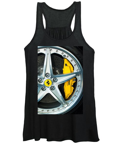Ferrari Wheel 3 Women's Tank Top
