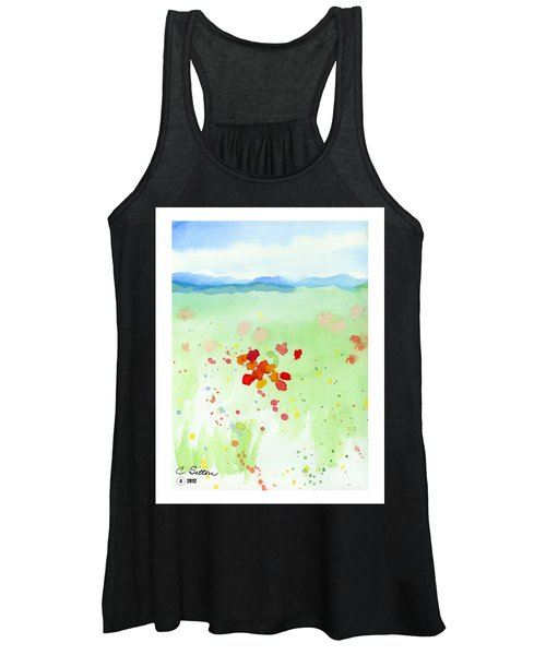Field Of Flowers 2 Women's Tank Top