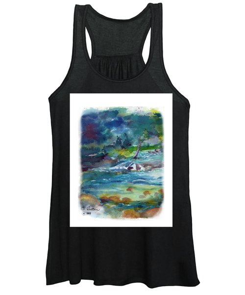 Fishin' Hole 2 Women's Tank Top