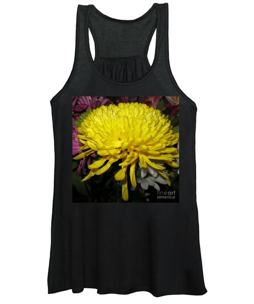 Yellow Queen. Beautiful Flowers Collection For Home Women's Tank Top