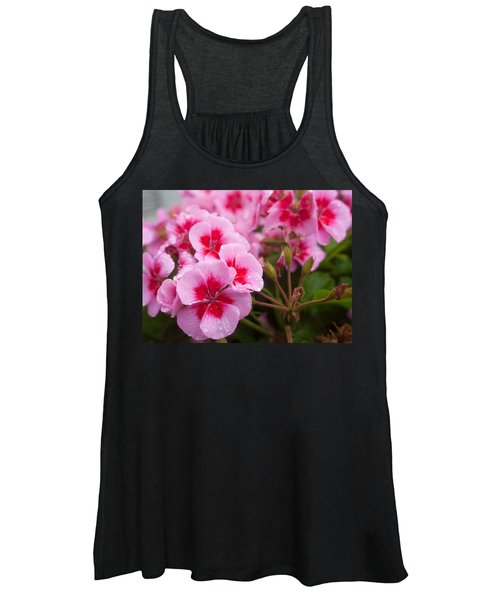 Flowers On A Rainy Sunday Afternoon Women's Tank Top