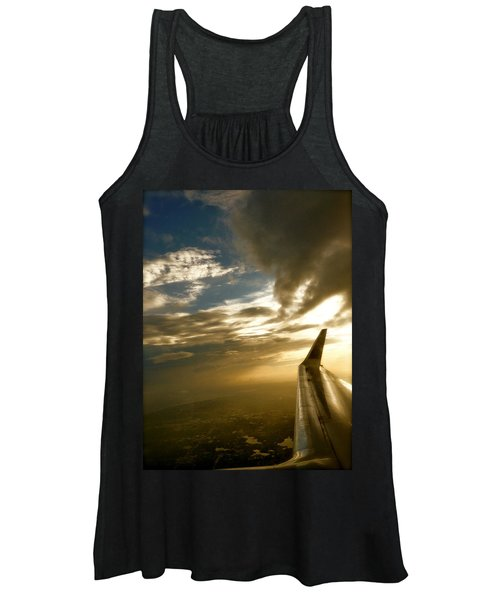 Flying Clouds By David Pucciarelli Women's Tank Top